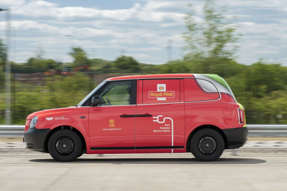 Royal Mail trialling new LEVC Electric Van