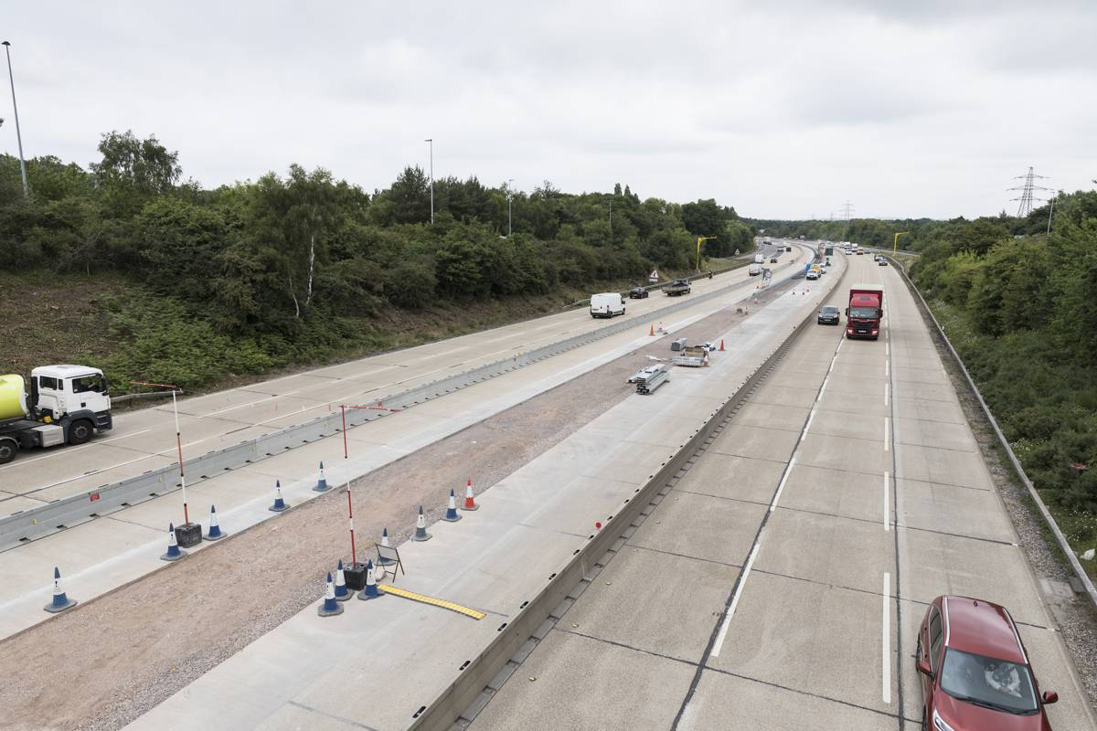 McCann wins part of M27 smart motorway upgrade project