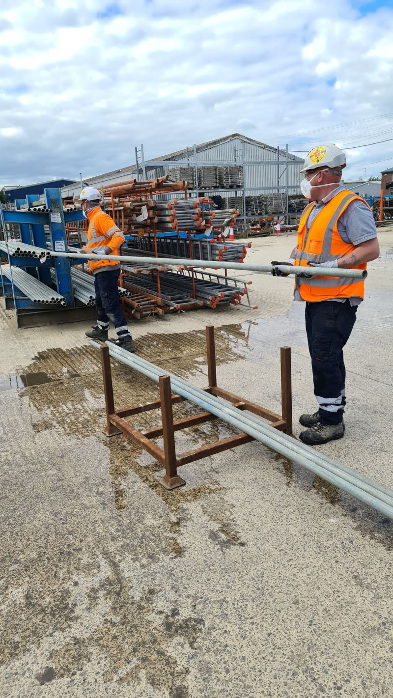 Mabey Hire awarded first industry COVID19 secure guideline verification