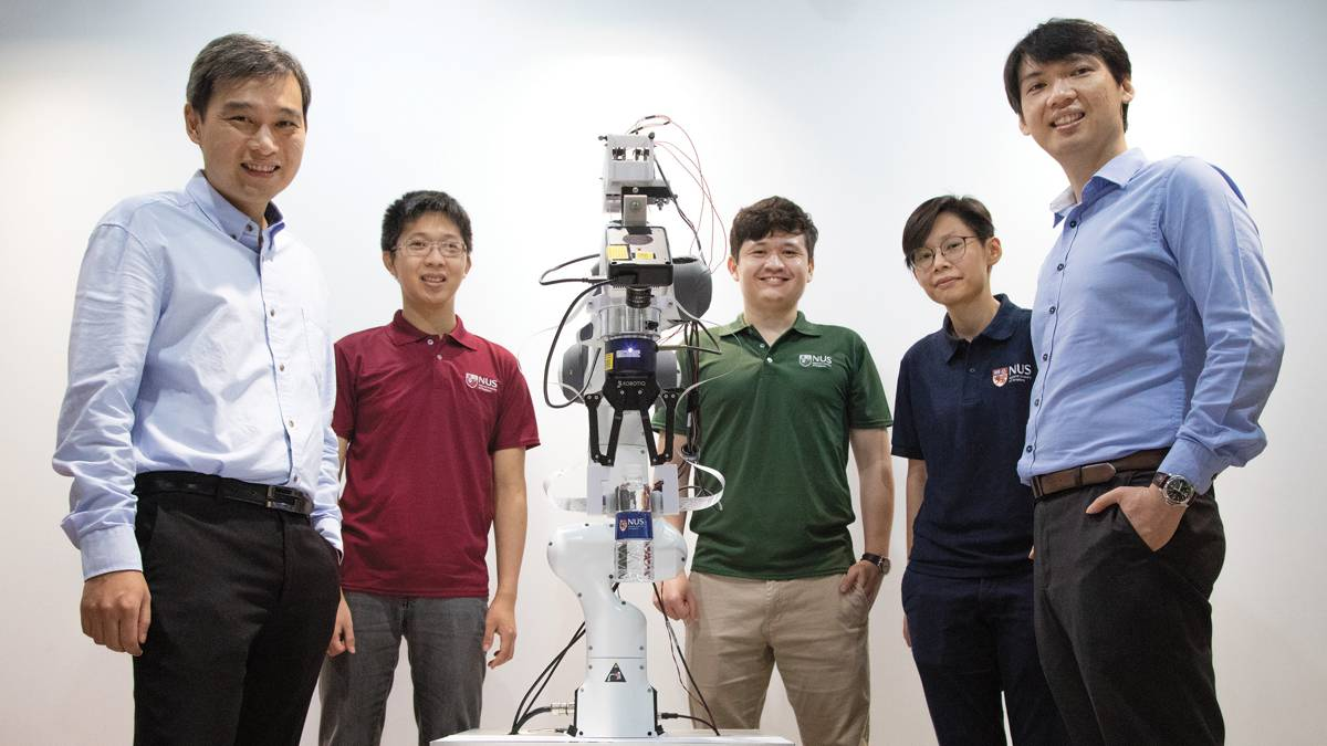 Singapore researchers explore Intel Neuromorphic Computing to bring touch to robots