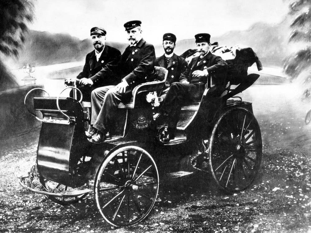 Tatra NW Präsident (1897)