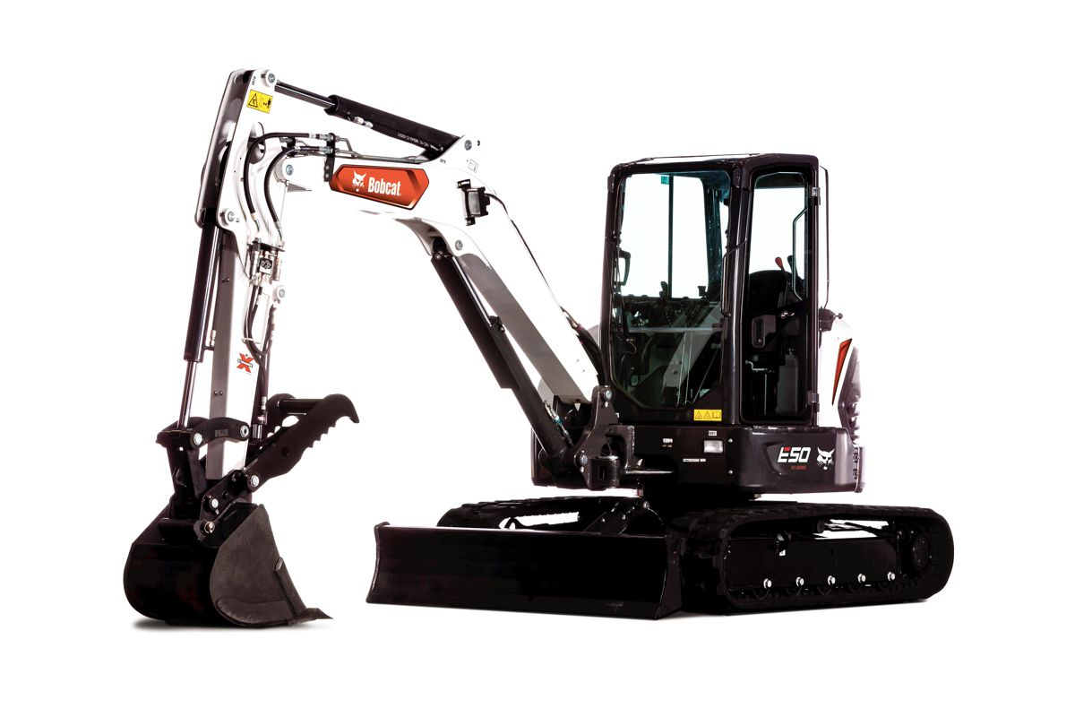 Doosan Bobcat and Green Machine partner up on Electric Compact Excavators