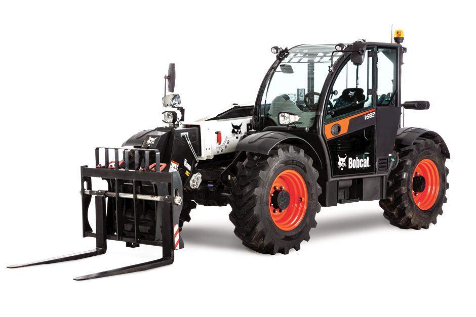Bobcat reveals new V923 VersaHANDLER Telescopic Tool Carrier