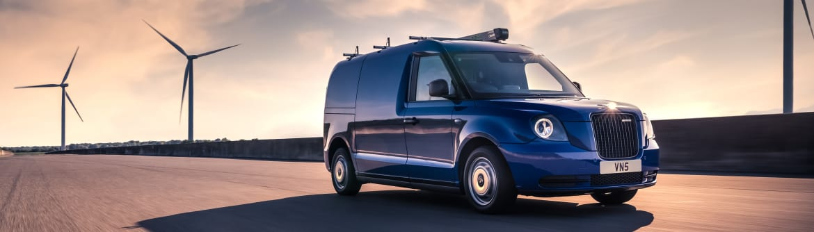 LEVC launches the VN5 Electric Light Commercial Van