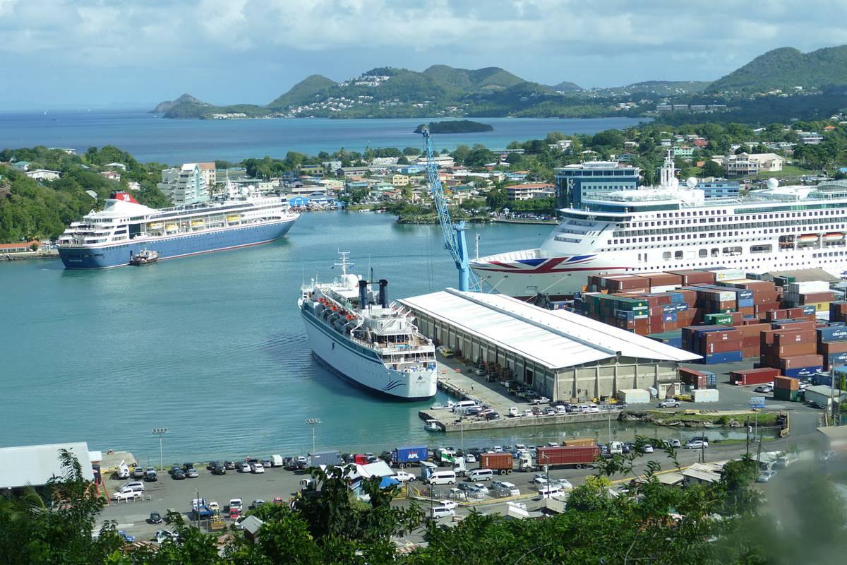 UK and CDB funding 40Km rehabilitation of highways in Saint Lucia