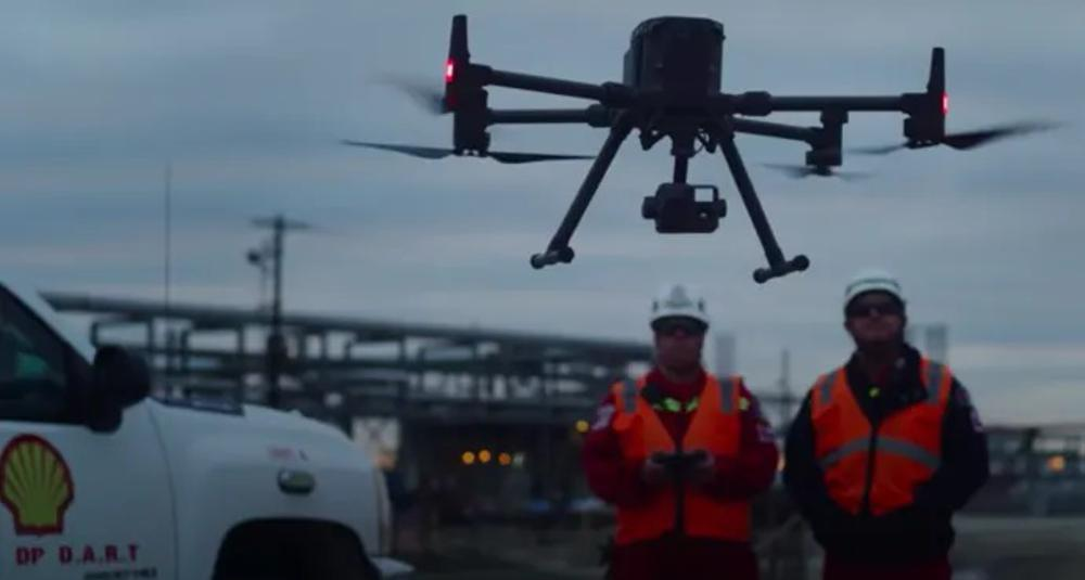 Shell's Drone Aerial Response Team relies on DJI for smarter and safer operations