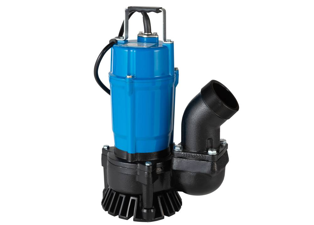 Tsurumi kicks off the new compact HS pump for dewatering tasks