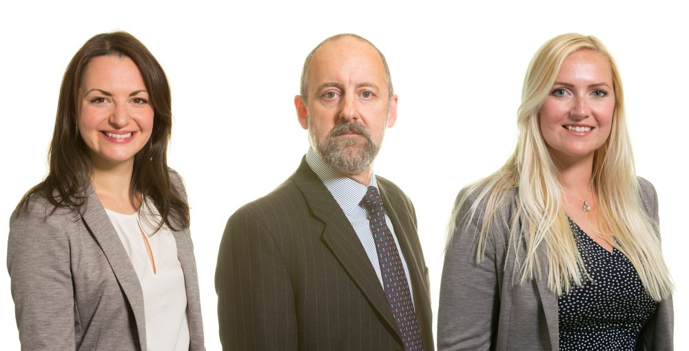 Article Vicky McCombe, managing associate, Simon Lewis, partnerand Sarah Wales, associate at law firm Womble Bond Dickinson