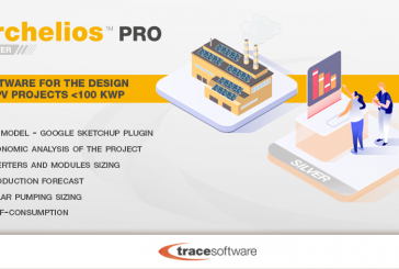 Archelios Pro Silver PV software can manage projects up to 100kWp