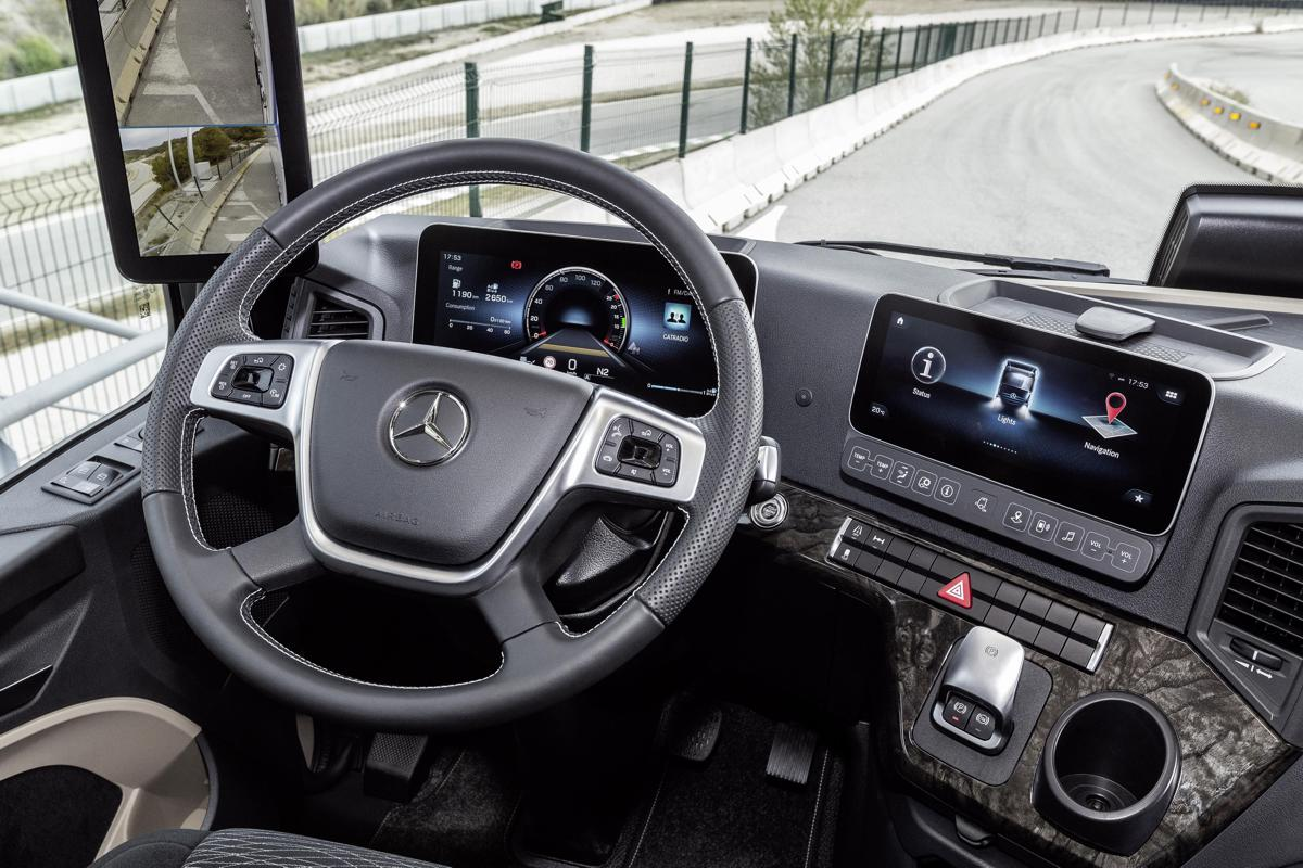Mercedes Benz Actros heralds the truck cab revolution