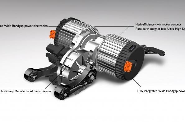 Bentley Motors explores an electric drive future