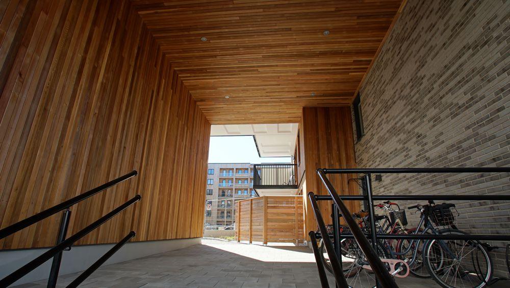 Woodsafe's unique concept produces flame-retardant wood