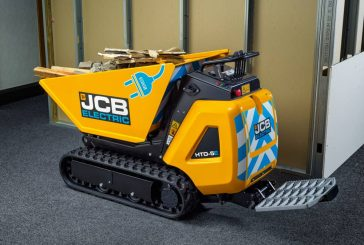 JCB introduces all-electric tracked dumpster