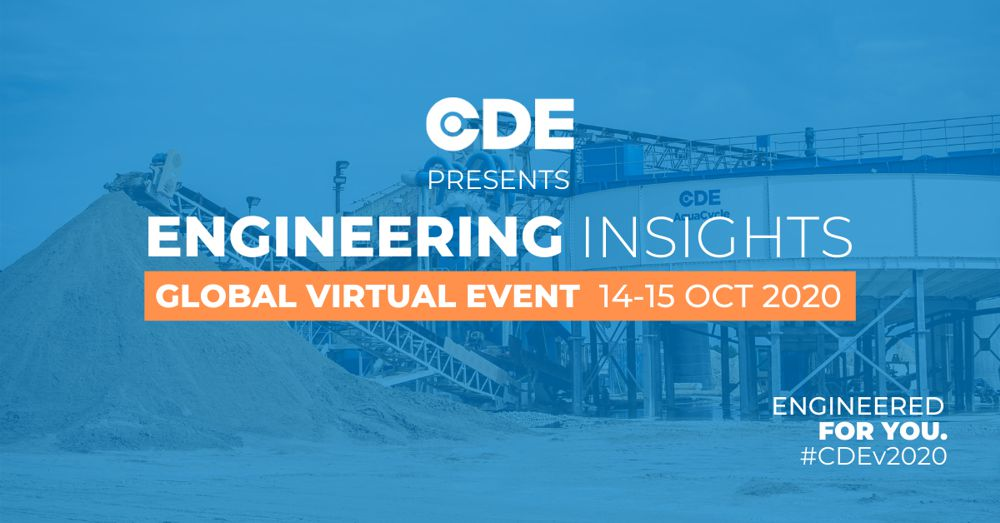 CDE announces global virtual symposium for the wet processing industry in October