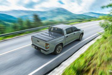 Worksport introduces the TerraVis solar panel tonneau cover for pickup trucks