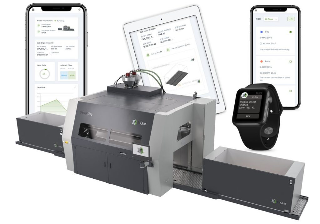 ExOne launches Scout App to monitor Industrial 3D Printers