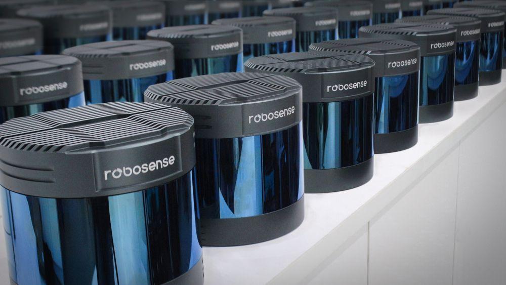 RoboSense LiDAR Sensor 1st in China and 2nd Worldwide