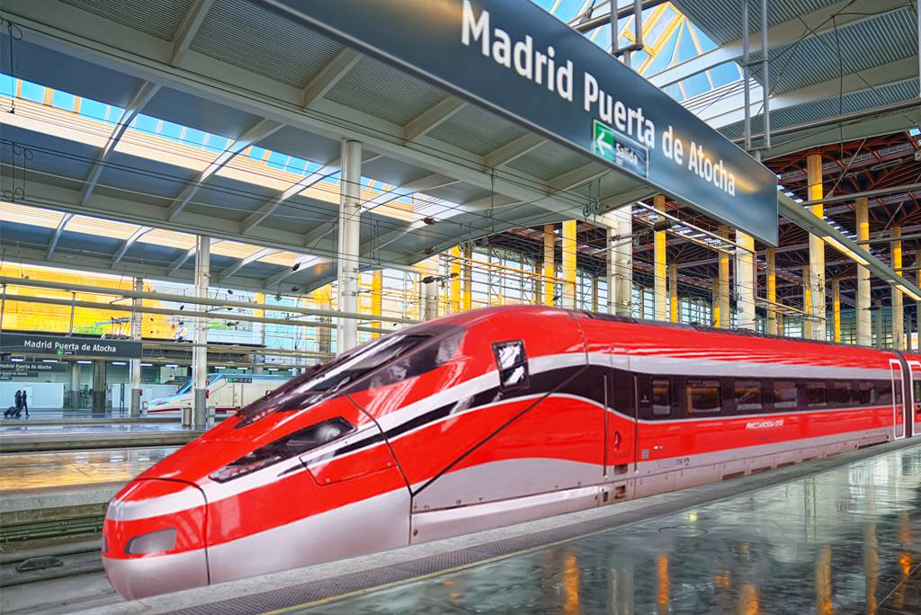 Hitachi and Bombardier to supply 23 V300ZEFIRO (Frecciarossa 1000) very high-speed trains to Trenitalia for operation in Spain