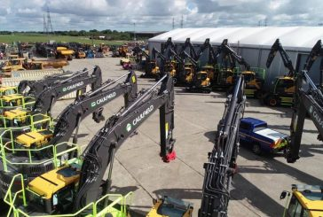 Caulfield upgrades 22 new Volvo Excavators with GKD RCi's for Smart Motorway project