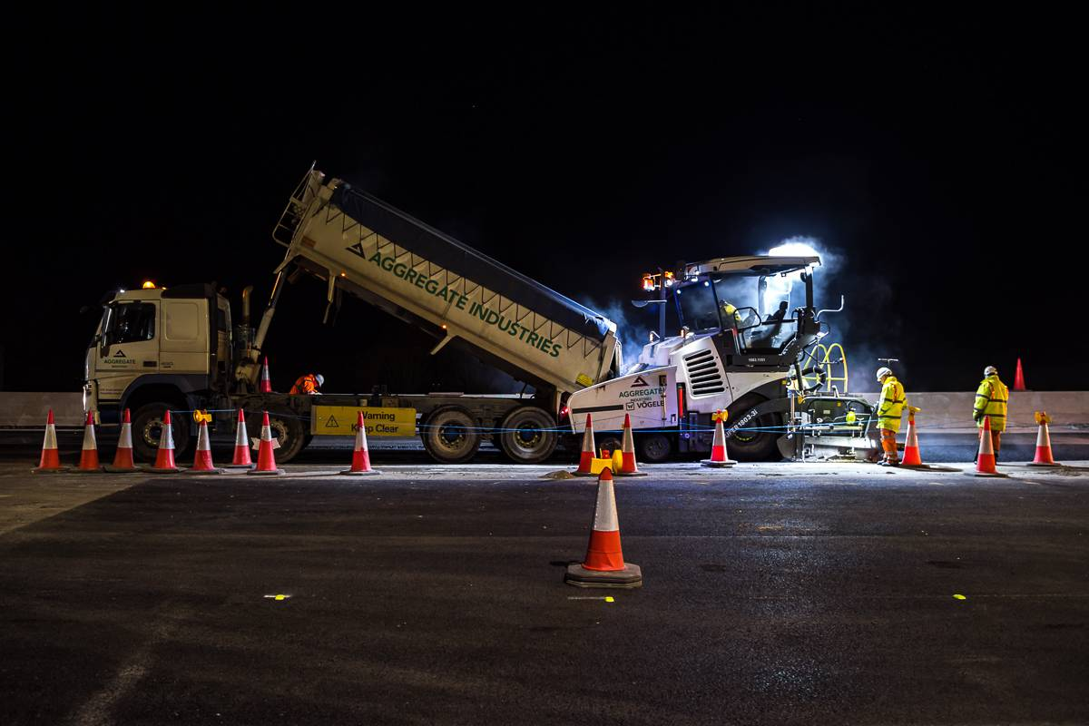 Aggregate Industries hails collaboration for successful early completion of M23 project