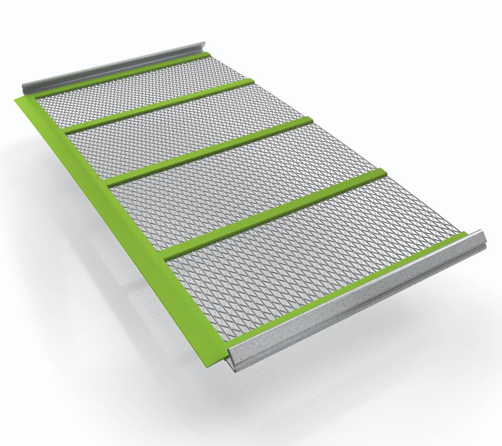 MAJOR FLEX-MAT with opening styles for a wide variety of material applications