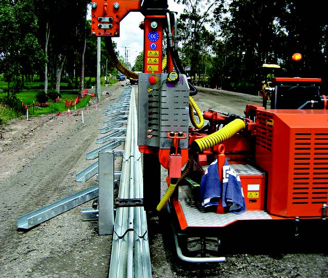 Groundwork Group introduce the Challenger Guardrail Barrier Install Unit
