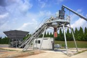 Liebherr LCM 1.0 pours a concrete mixing plant into a smaller package for smaller budgets