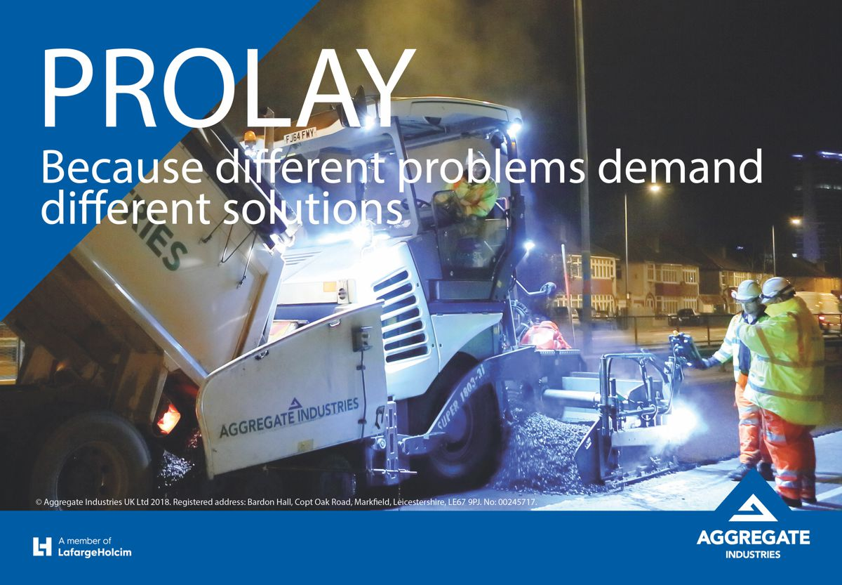 Aggregate Industries launches ProLay System for tailored asphalts solutions