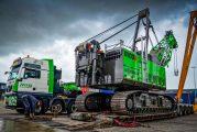 SENNEBOGEN 100-tonne Clamshell Crane digs deep on Kiel Canal project