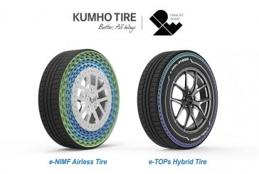 Kumho wins IDEA Awards for ground-breaking airless and hybrid tyres