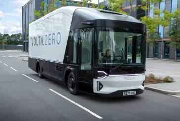 Meet the Volta ZERO first purpose built all-electric truck