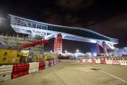 World's longest airside bridge lifted by Mammoet at Hong Kong International Airport