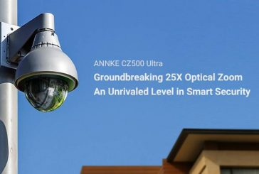ANNKE CZ500 Ultra PoE PTZ Camera features AI and 25x zoom for unrivalled level security