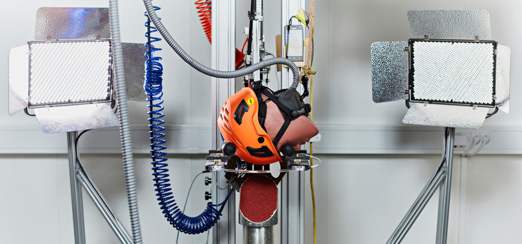 Every MIPS helmet available on the market is developed together with the helmet manufacturer and tested in MIPS' global test centre outside of Stockholm, Sweden.