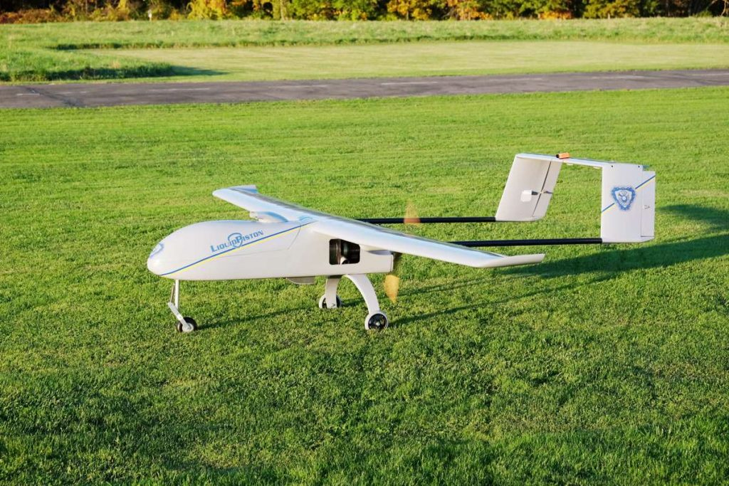LiquidPiston aircraft electrification enables drone flight duration and fuel efficiency