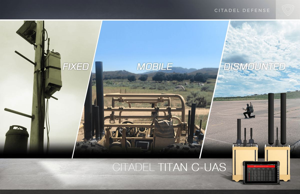 Titan remains a cost-effective plug-and-play solution that can detect and defeat an estimated 98% of commercial off-the-shelf drones.