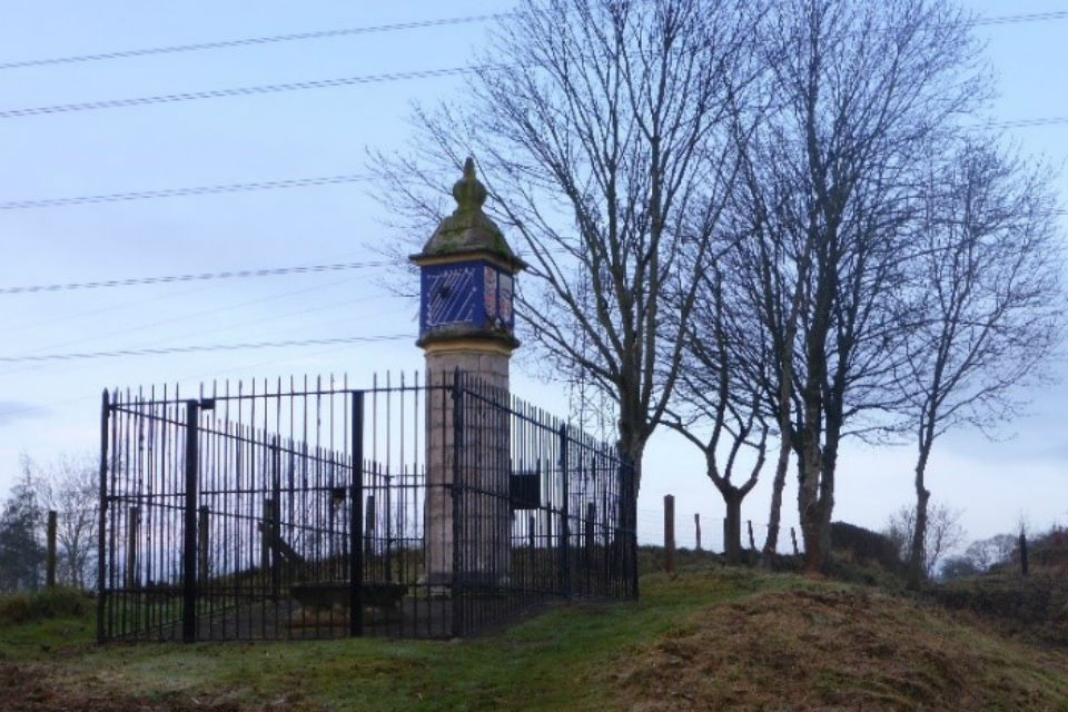 Funding for local heritage has improved the visibility of Countess Pillar which is alongside the westbound A66 at Brougham near Penrith. The scheduled ancient monument (SAM) and Grade II* listed building is a 17th century octagonal sandstone pillar commissioned by Lady Anne Clifford in 1656 in memory of her mother, Margaret Clifford, Countess of Cumberland. The top of the monument is highly decorated, painted in bright blue and gold with sundials on several of its sides.