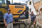 Holzer Tiefbau invest in new Hyundai HX220AL Excavator in Germany