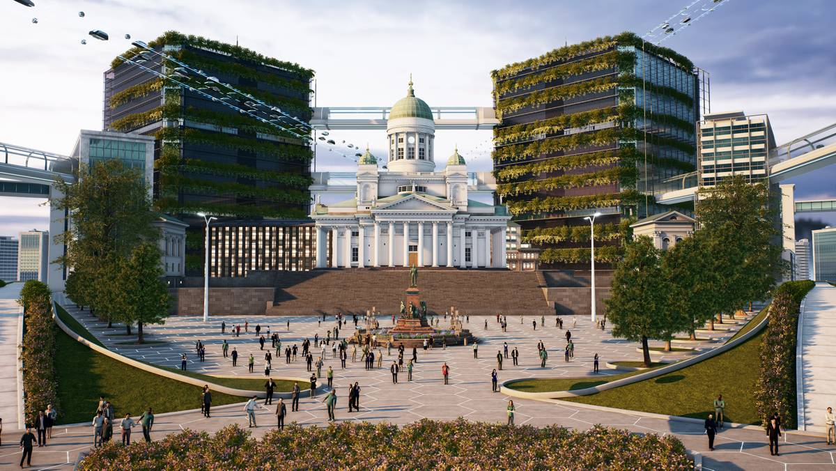 Helsinki co-hosts immersive virtual conference using cutting edge gaming technology