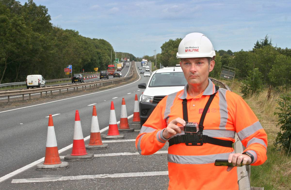 Sir Robert McAlpine revealing Underground Highway Assets with MGISS Technology