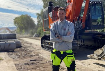 Hitachi ZX490LCH-7 Excavator delights operator and dealer in Norway