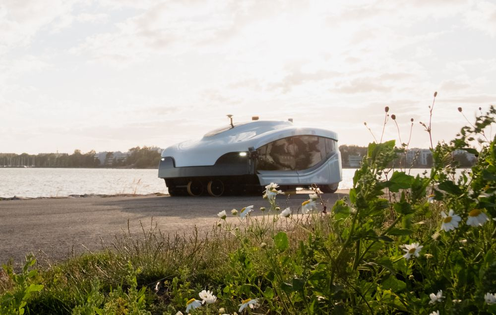 Trombia Technologies unveils high power autonomous street sweeper in Finland