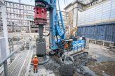 Soilmec SR-125 HIT drilling rig delivers solid foundations in Frankfurt