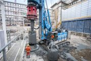 Soilmec SR-125 HIT drilling rig delivers solid foundations in Frankfurt
