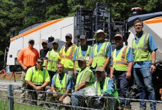 Wirtgen W 380 CRi recycling train goes full-depth in South Carolina