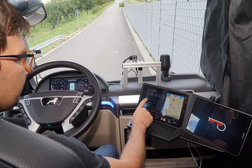 Bosch develops Tango virtual companion to increase truck driving safety