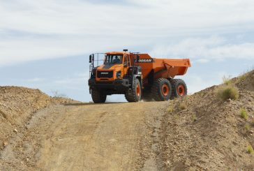 Doosan reveals next generation DA30-5 and DA45-5 articulated hauler trucks