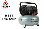 Metabo HPT unveils The Tank 200 PSI High Capacity Pancake Compressor
