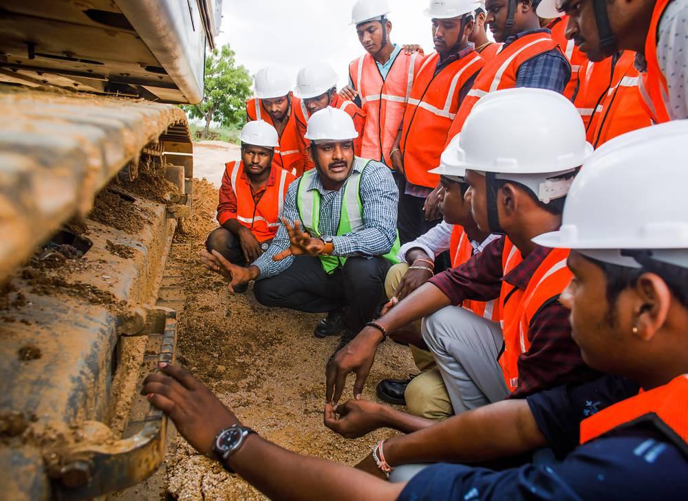 Operator training in India