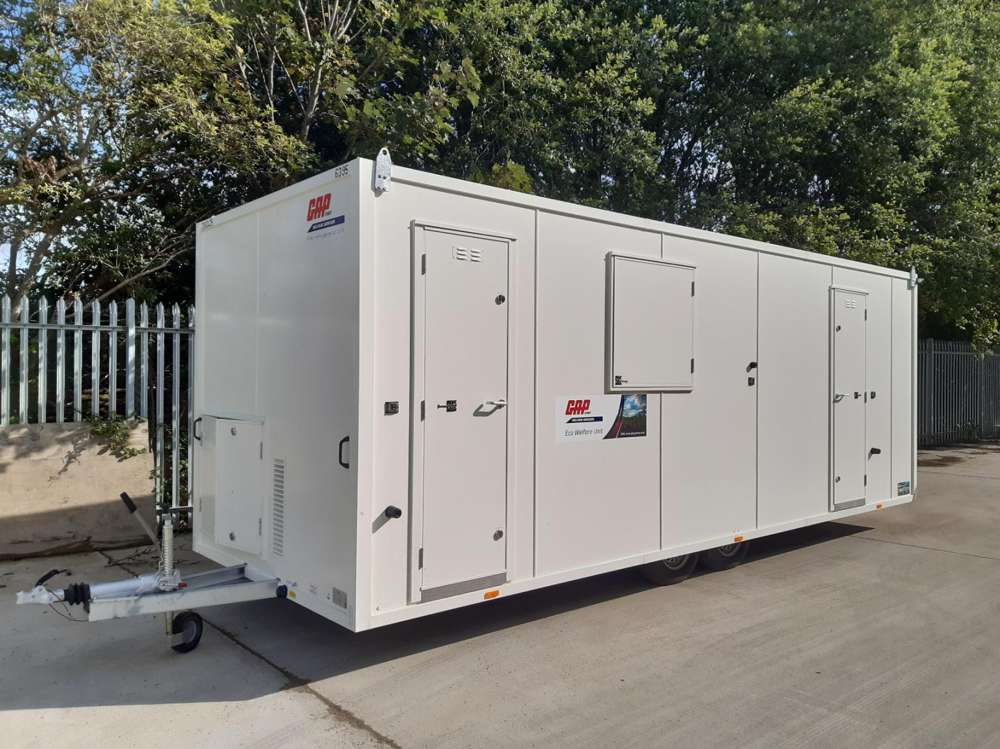 GAP Hire Solutions invests in 240 green AJC EasyCabins